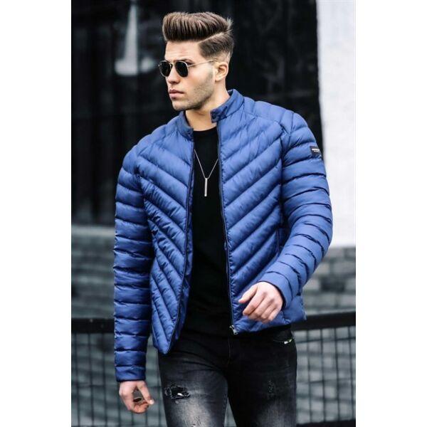 Steppelt kék dzseki
