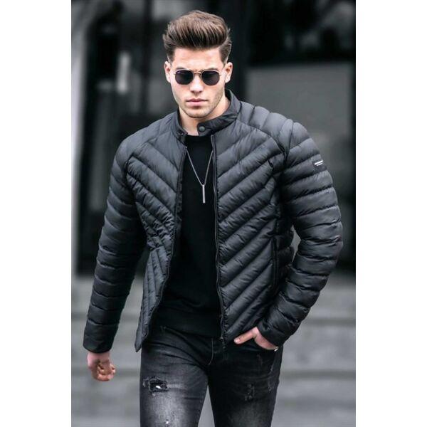 Steppelt fekete dzseki