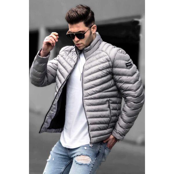 Steppelt szürke dzseki