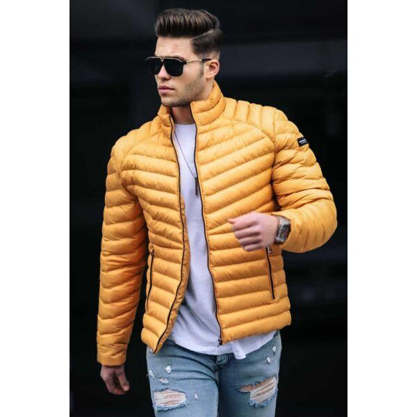 Steppelt mustársárga dzseki
