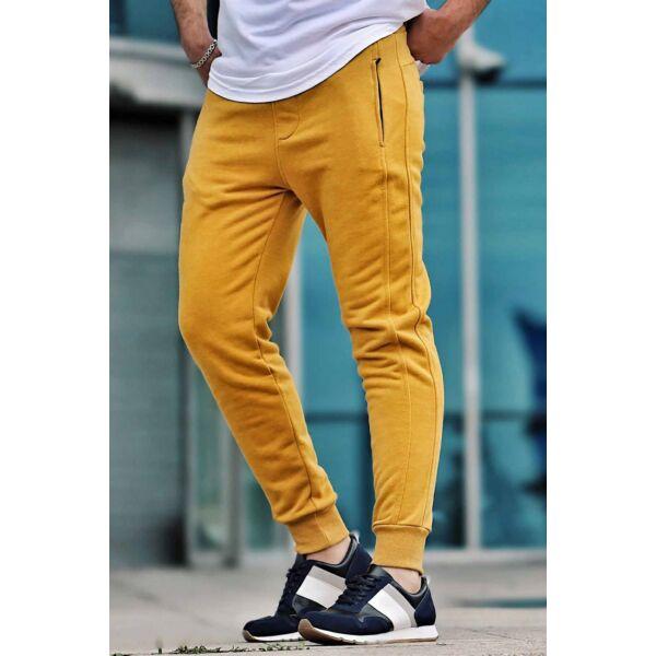 Mustár sárga melegítő nadrág