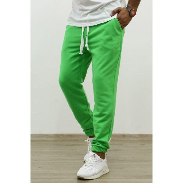 Zöld melegítő nadrág