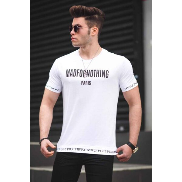 Fehér feliratos egyedi póló