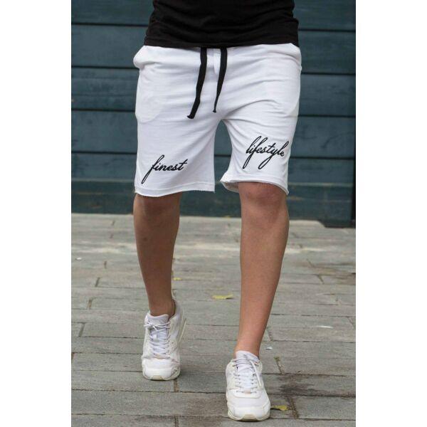 Fehér Madmext rövid nadrág