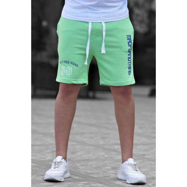 Neon zöld rövid nadrág