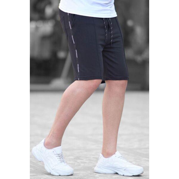 Madmext  fekete rövidnadrág