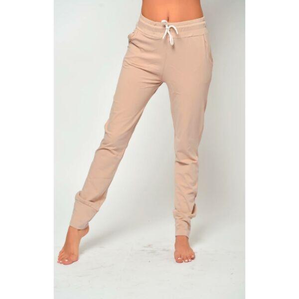 Drapp szabadidő nadrág