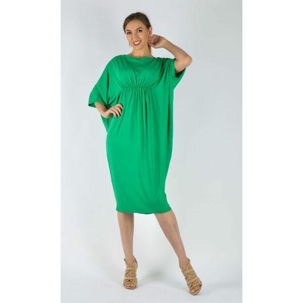 Mell alatt húzott zöld ruha