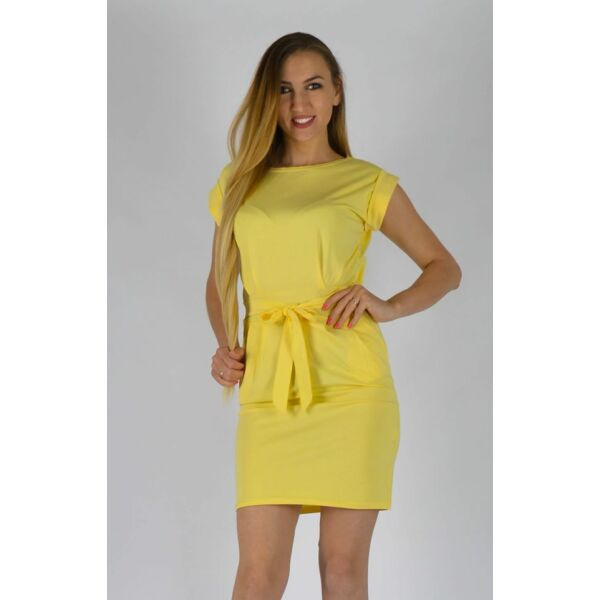 Zsebes sárga  ruha