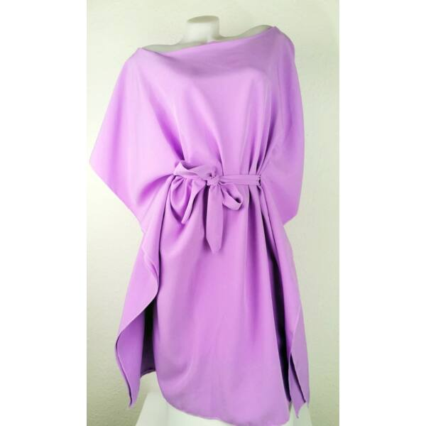 Lila színű lepel ruha