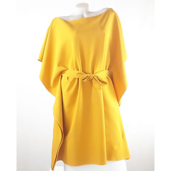 Mustár sárga lepel ruha