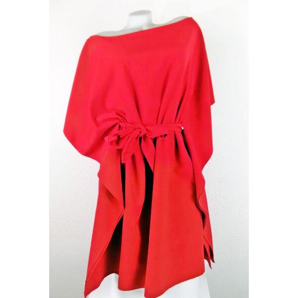 Piros színű lepel ruha