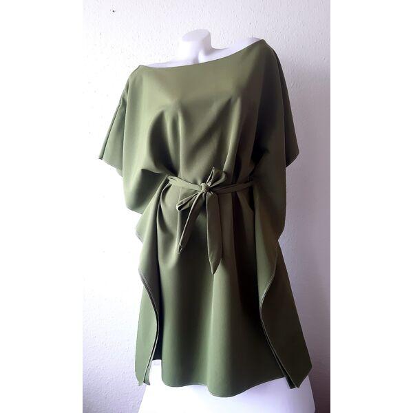 Méregzöld lepel ruha