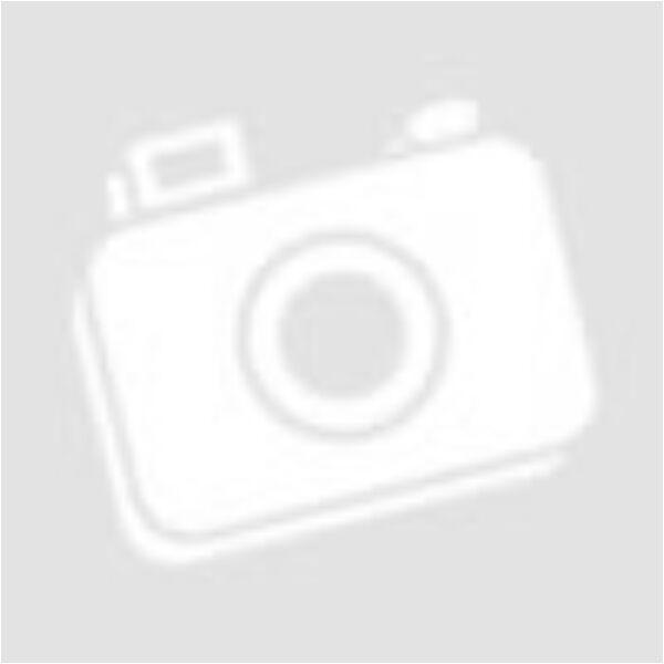 Fekete félgarbós ruha övvel