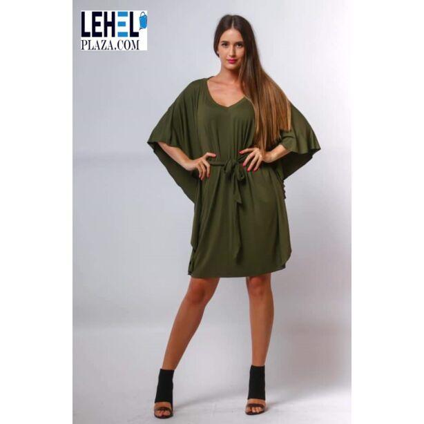 Khaki zöld pamut lepel ruha