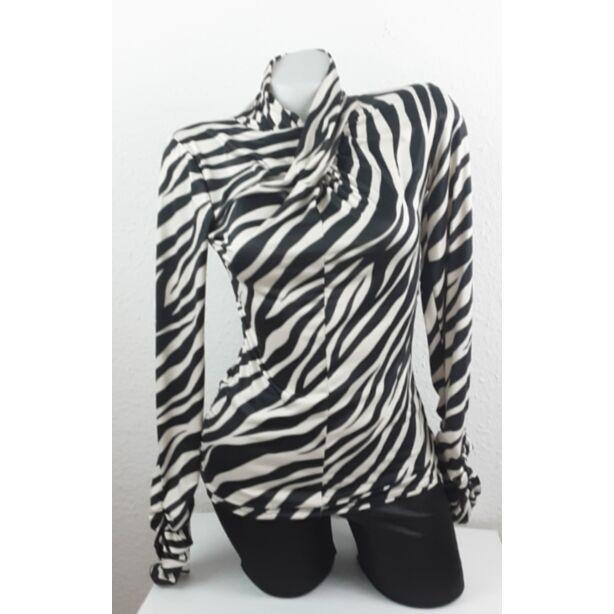 Zebra mintás felső