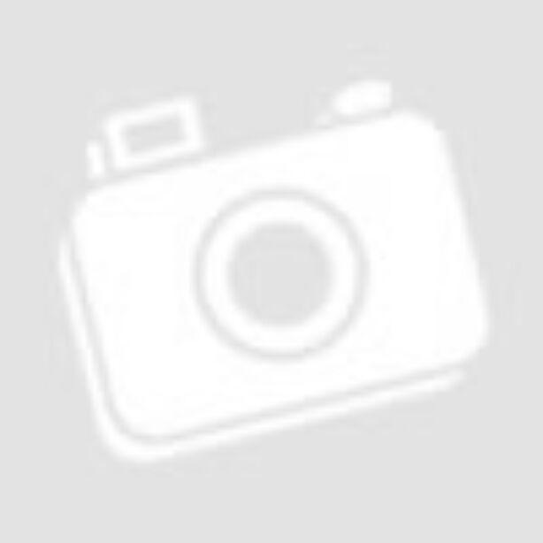 Chic csipke szegélyes kapucnis khaki zöld felső
