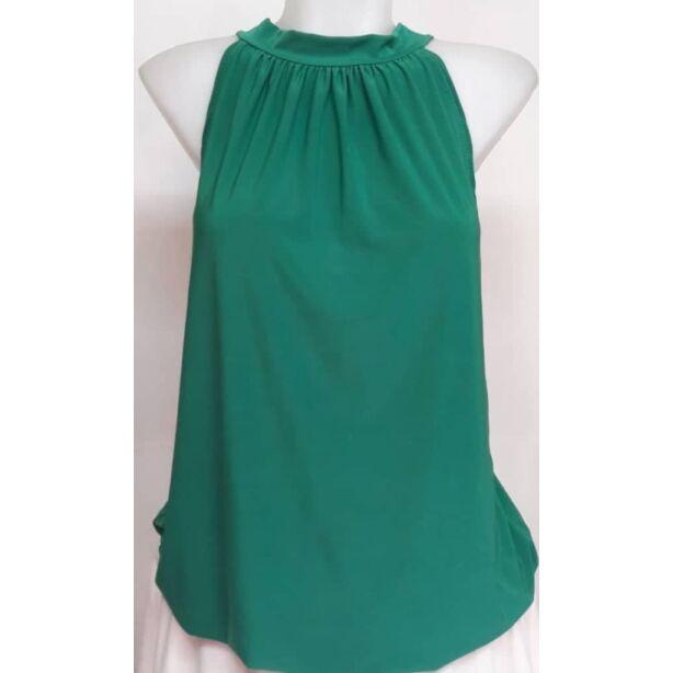 Zöld nyakbakötös felső