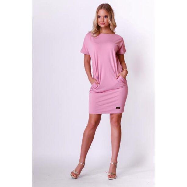 mályva színű női ruha