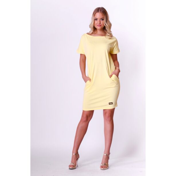 Citromsárga női ruha